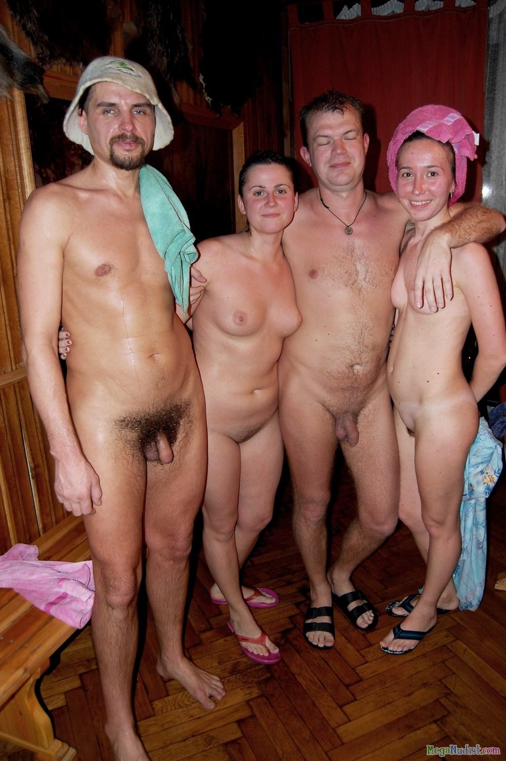 Семьи Нудистов В Бане Эротика